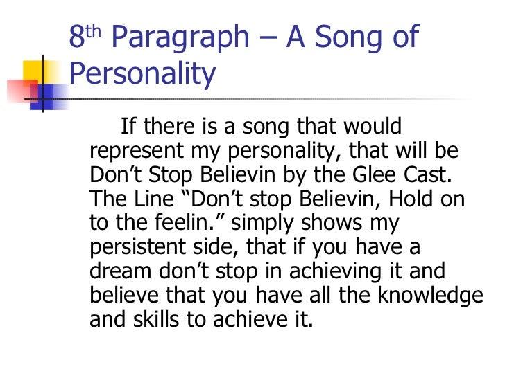 autobiography paragraph