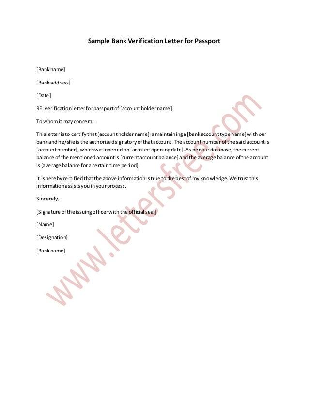 Bank verification letter timiznceptzmusic bank verification letter spiritdancerdesigns Images