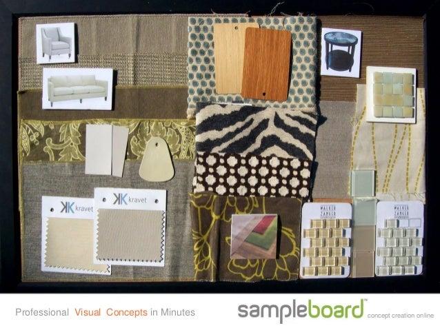 SampleBoard Mood Board Creator for Education