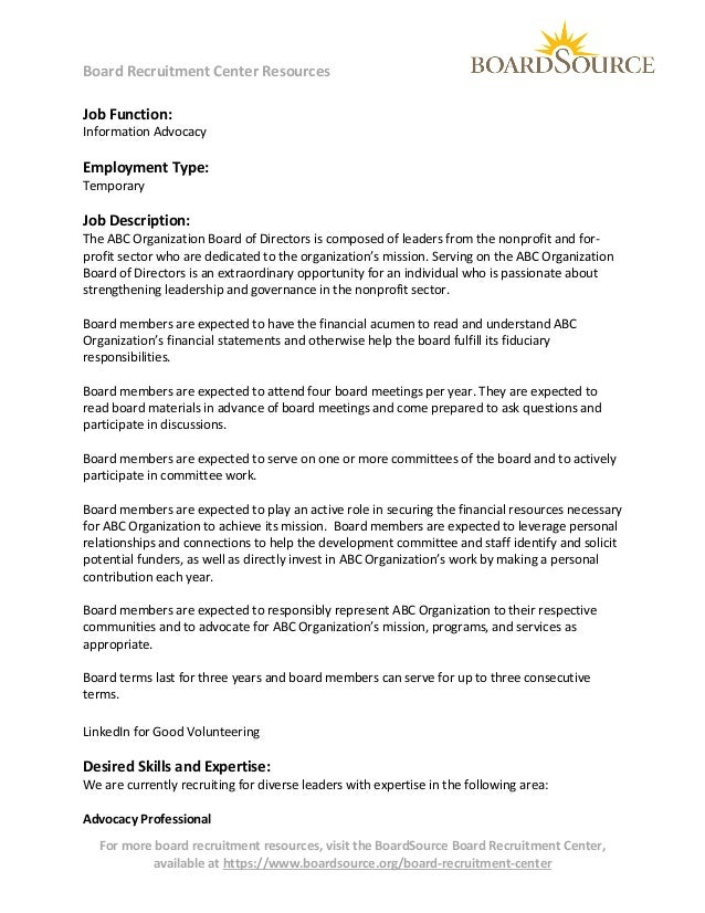 sample letter of invitation to join board of directors