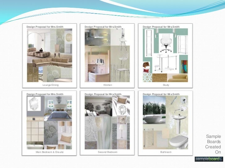 Sample Boards Sell Design Ideas