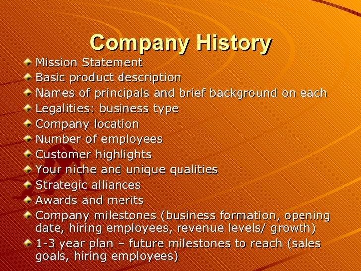 company the past pattern company plan