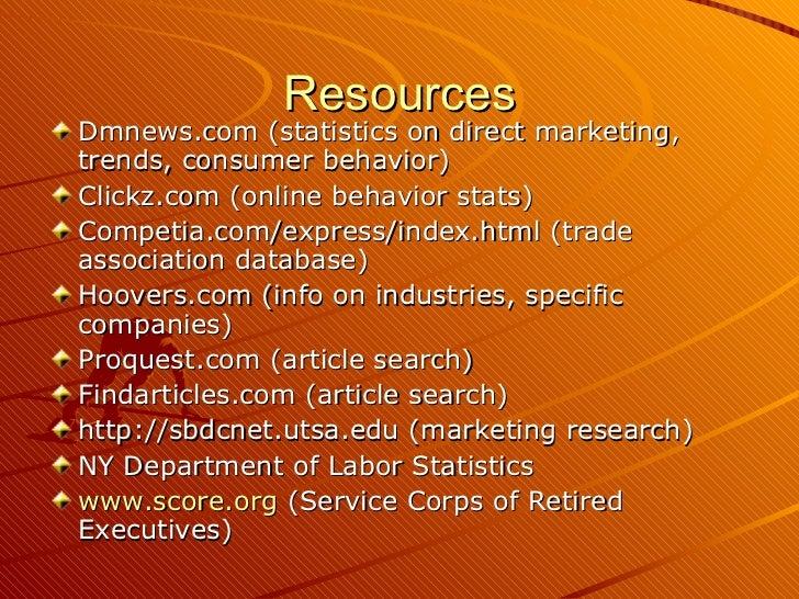 Sbdcnet Research