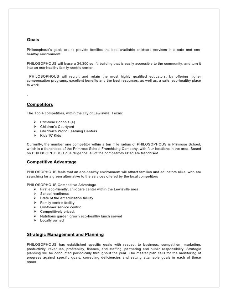 gardening business plan template