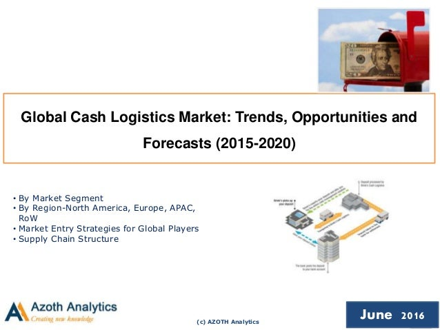 (c) AZOTH Analytics June 2016 Global Cash Logistics Market: Trends, Opportunities and Forecasts (2015-2020) • By Market Se...