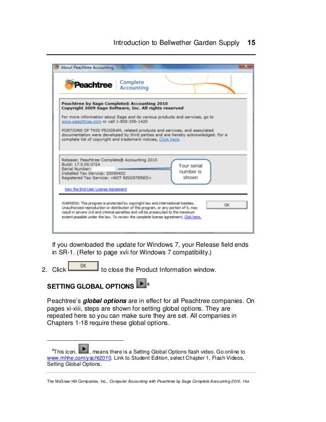 peachtree accounting 2010 serial number download