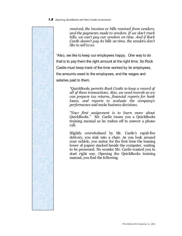 Quickbook Complete Notes