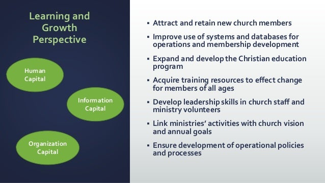 Sample church strategic plan