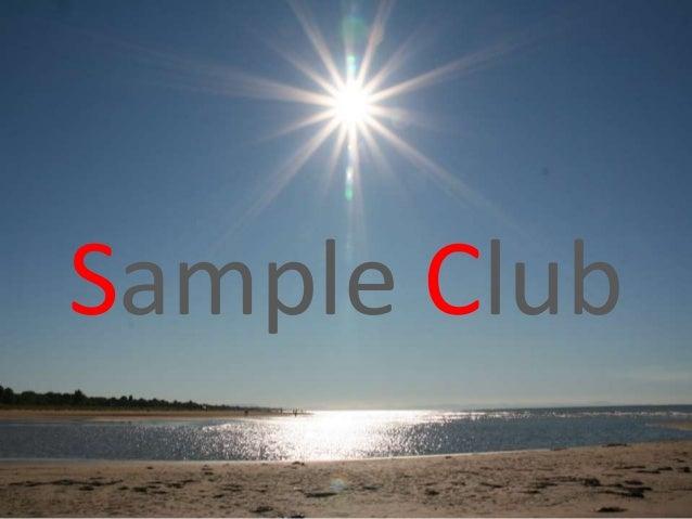 Sample Club