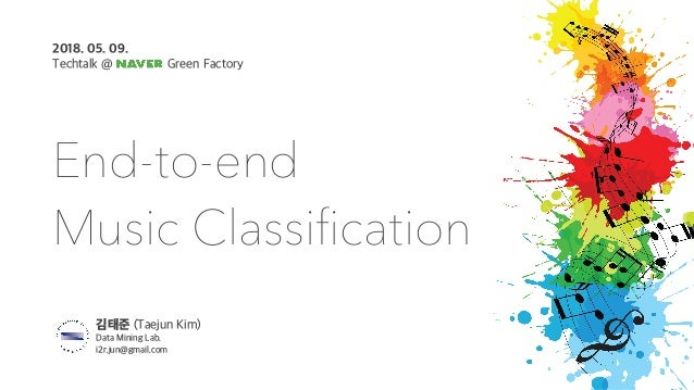 End-to-end Music Classification