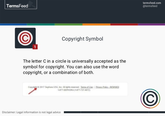 Sample Copyright Notices