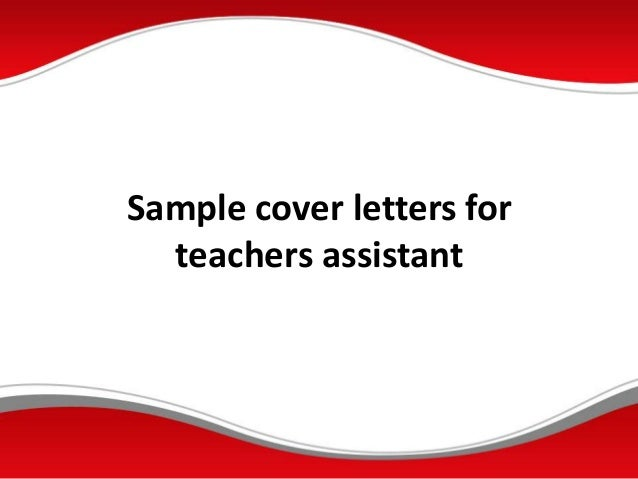 sample-cover-letters-for-teachers-istant-1-638 Template Cover Letter For Teaching Istant on applying for kg, template examples, for student, new substitute, sample templates, job application,