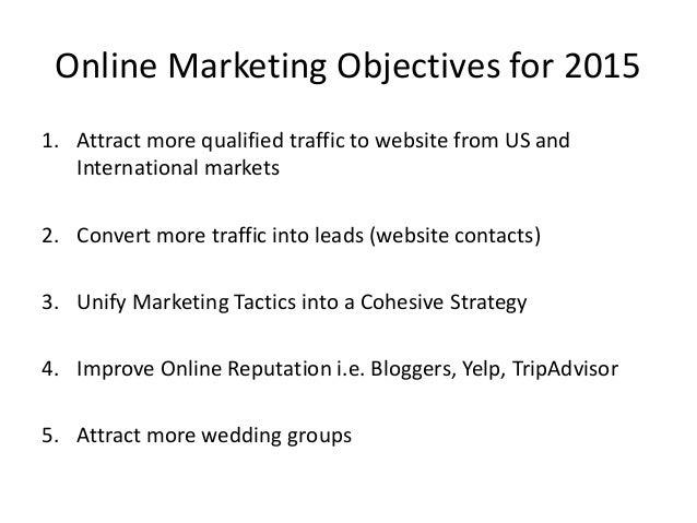 ... 3. Online Marketing ...  Marketing Proposal Samples