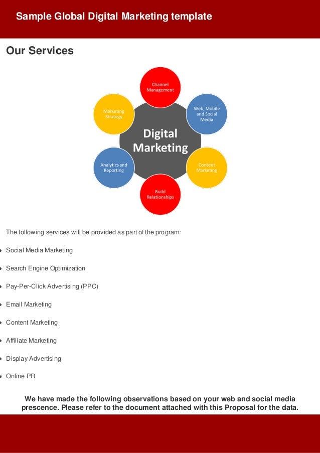 Digital Marketing Proposal  Slide 3