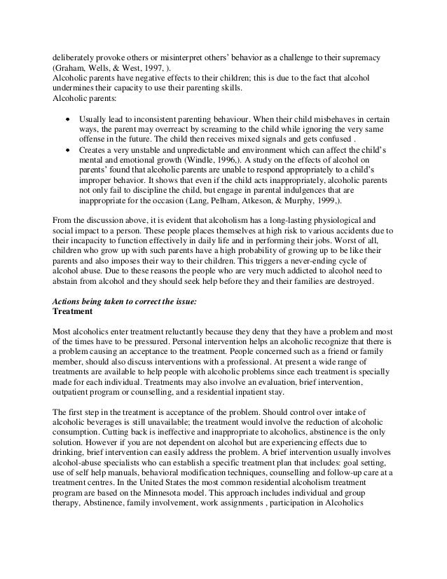 English As A Global Language Essay Essay On Alcoholism Essay On Alcohol Essay Alcohol Narrative Essay  An Essay On Newspaper also Health Essay Writing Alcoholism Essays  Romefontanacountryinncom How To Write A Proposal Essay Paper