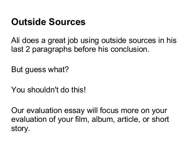 sample essay juno 7