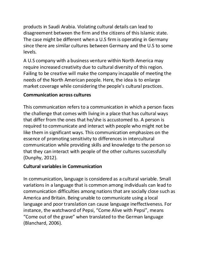 intercultural communication research paper pdf