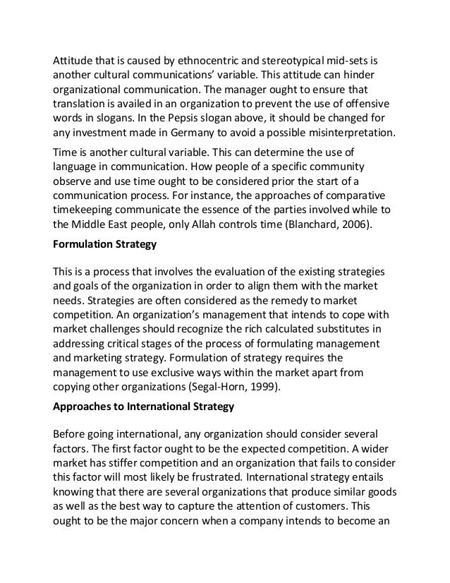 sample essay on cross cultural management 5