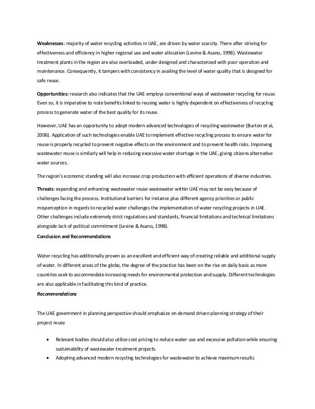 causes of water pollution short essay
