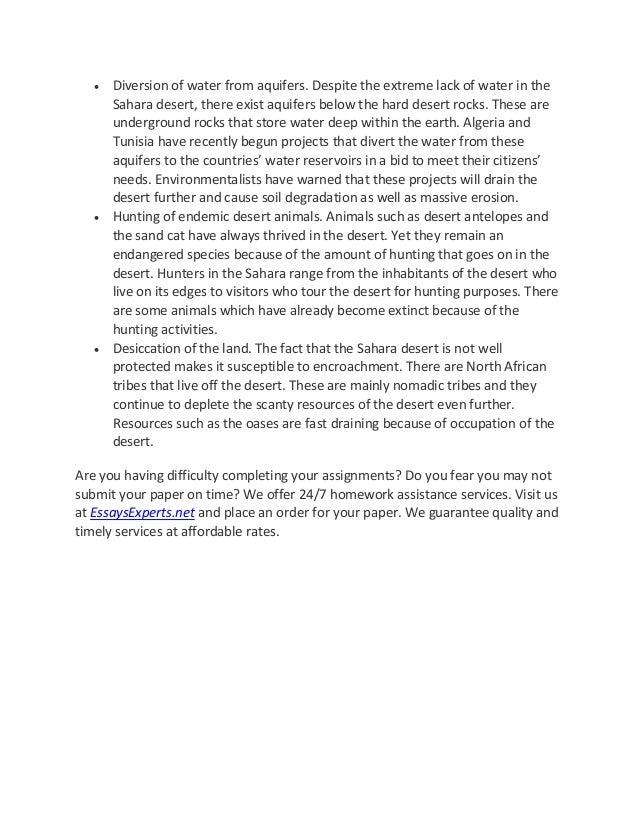 environmental degradation essay