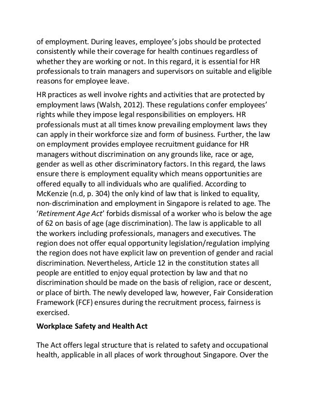 Essay on employment opportunities