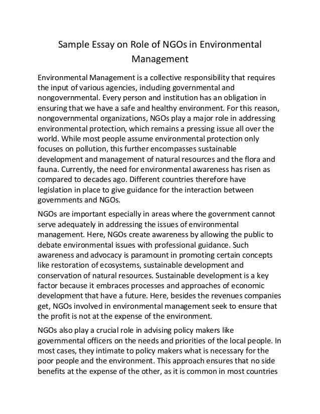 how to protect the environment essay A clean and healthy environment is part and parcel of the wealth and quality of life that we desire for ourselves now and for our children in the future.