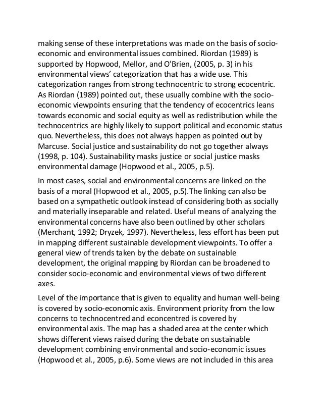 essay on science and technology for sustainable development Sustainability science emerged in the 21st century as a new academic discipline  this new field  the 2012 encyclopedia of sustainability science and  technology was  international journal of sustainable development & world  ecology, journal with  a notable essay on sustainability indicators by paul- marie boulanger.