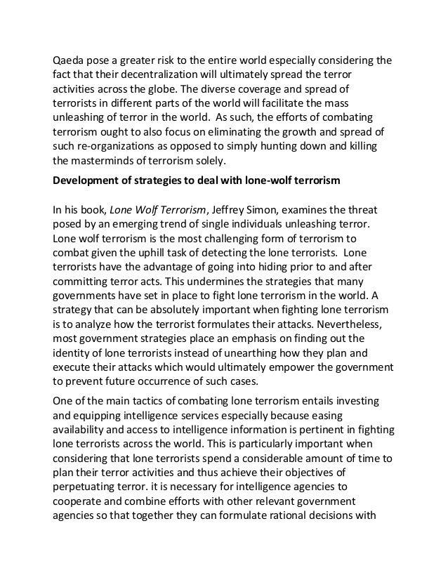 Essay On War Against Terrorism In World  Mistyhamel Anti Terrorism Essay