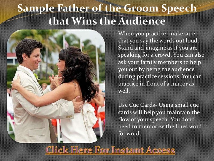 Father Of The Groom Toast Tips And Samples – Desenhos Para Colorir