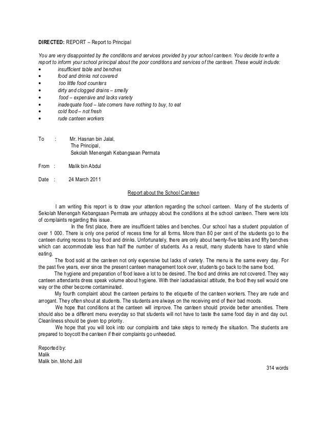 Spm Directed Writing Sample Essay