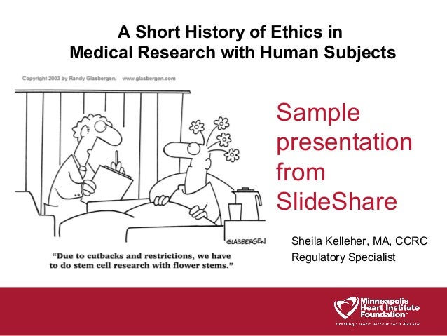 Ethical and legal issues in research involving human subjects: do you want a piece of me?