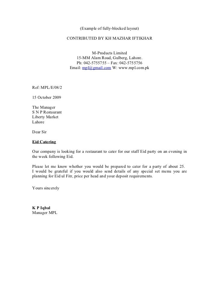 Full block cover letter selol ink full block cover letter altavistaventures Image collections