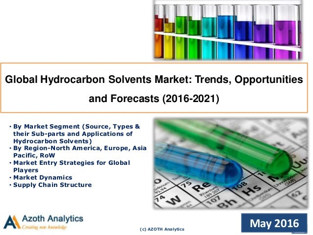 (c) AZOTH Analytics May 2016 Global Hydrocarbon Solvents Market: Trends, Opportunities and Forecasts (2016-2021) • By Mark...