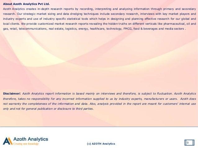 (c) AZOTH Analytics About Azoth Analytics Pvt Ltd. Azoth Analytics creates in-depth research reports by recording, interpr...