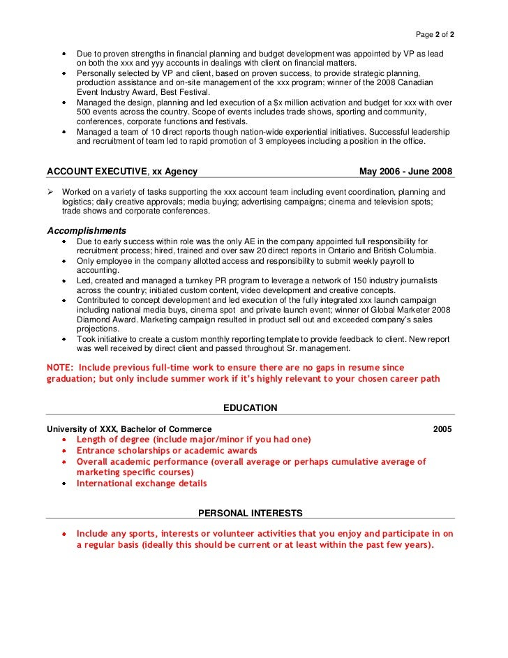 SlideShare  Example Of Personal Resume