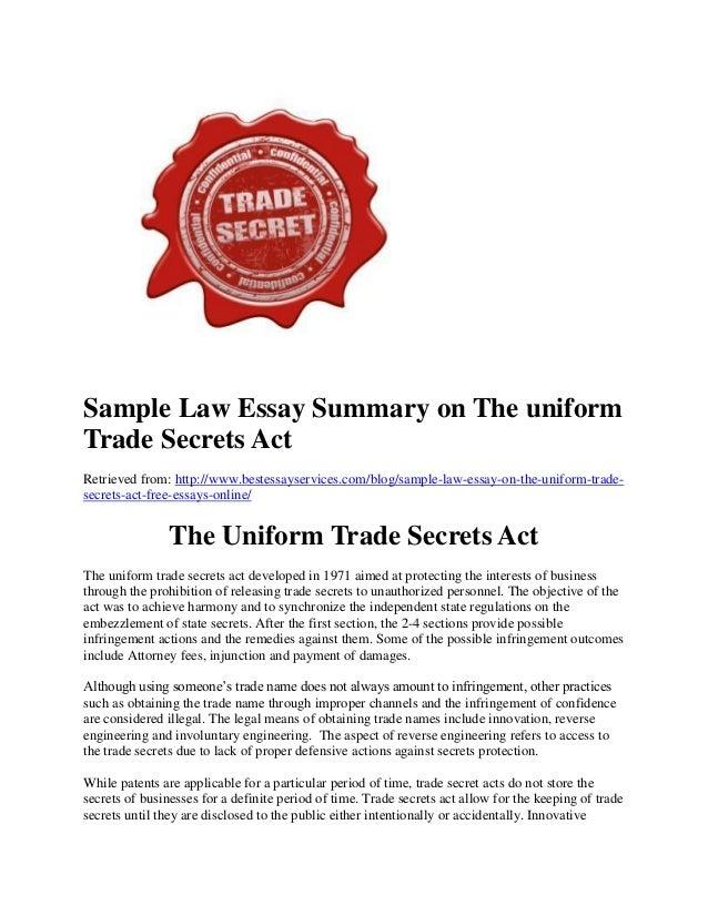 Trading law in australia essay
