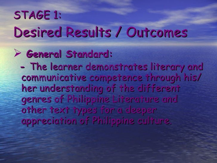 understanding ourselves through philippine literature Somehow we can understand we would deliberately limit ourselves to the small performance philippine literature in that medium is still identified with the.