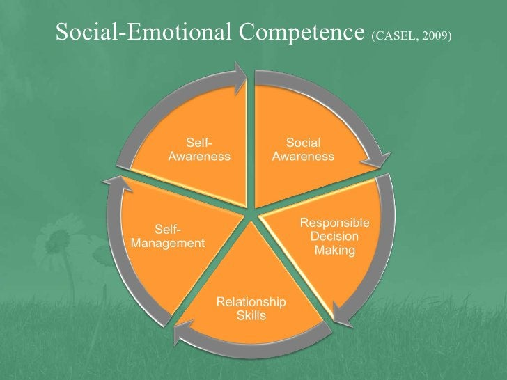 Social-Emotional Competence  (CASEL, 2009)
