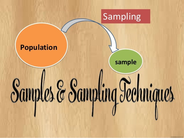 Population  sample  Sampling