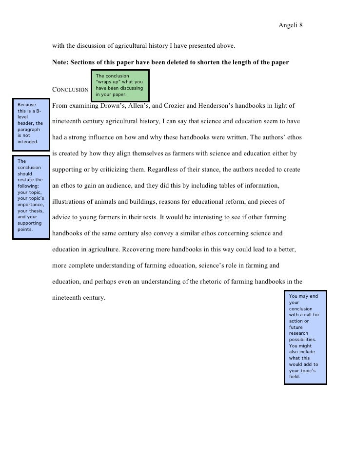 Owl purdue how to write conclusion