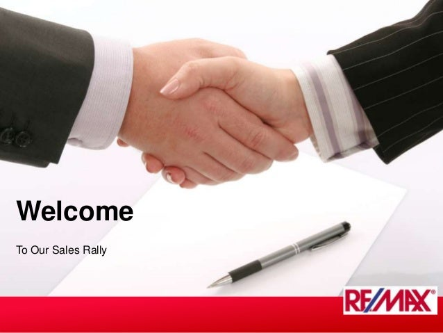 To Our Sales RallyWelcome