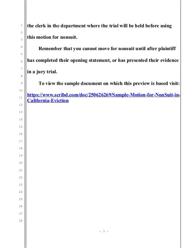 What Is A Notice Of Nonsuit Mccnsulting Web Fc2 Com