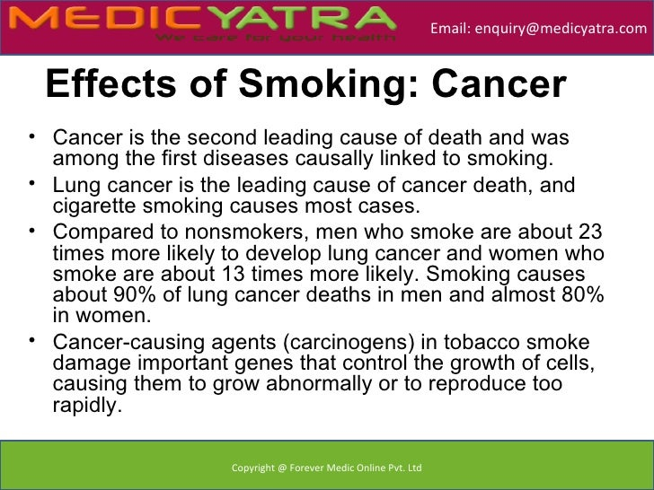 chronic disease v and tobacco