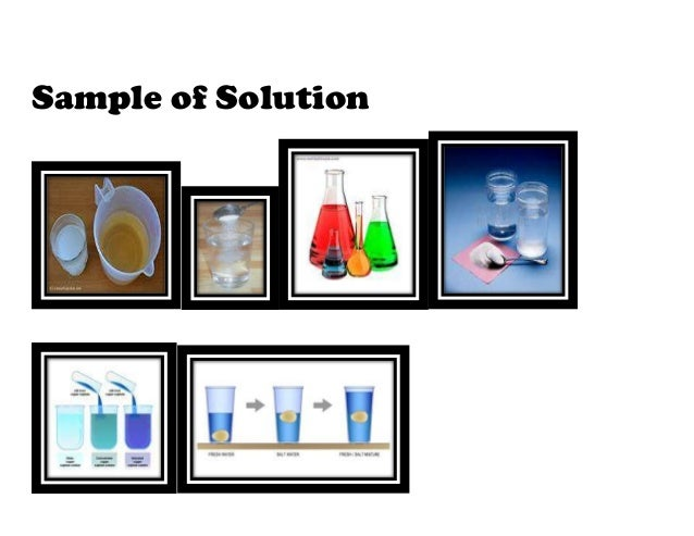 Sample of Solution