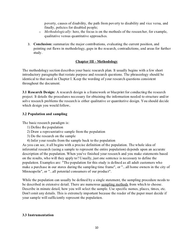 Research paper sentence outline example