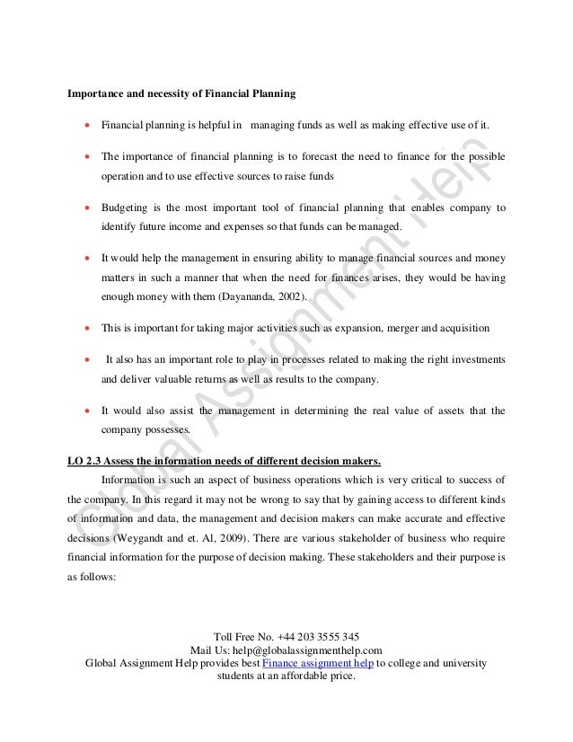 managing financial resources decision making finance essay Nursing leadership and management management and decision making respectively financial and informational resources in an organizational.