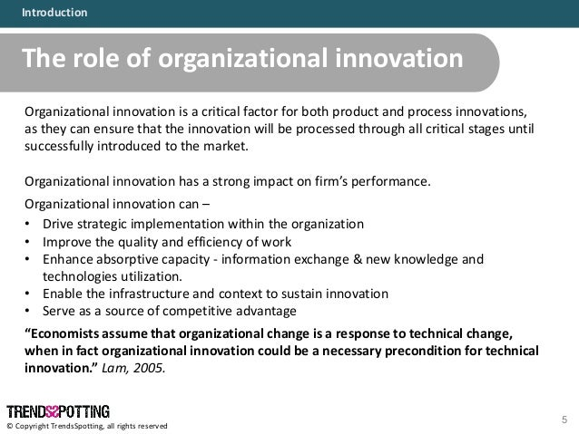 implementing innovation A process for innovation planning by: jeffrey baumgartner in:  nevertheless, it is important to include the pre-implementation in your innovation plan you also .