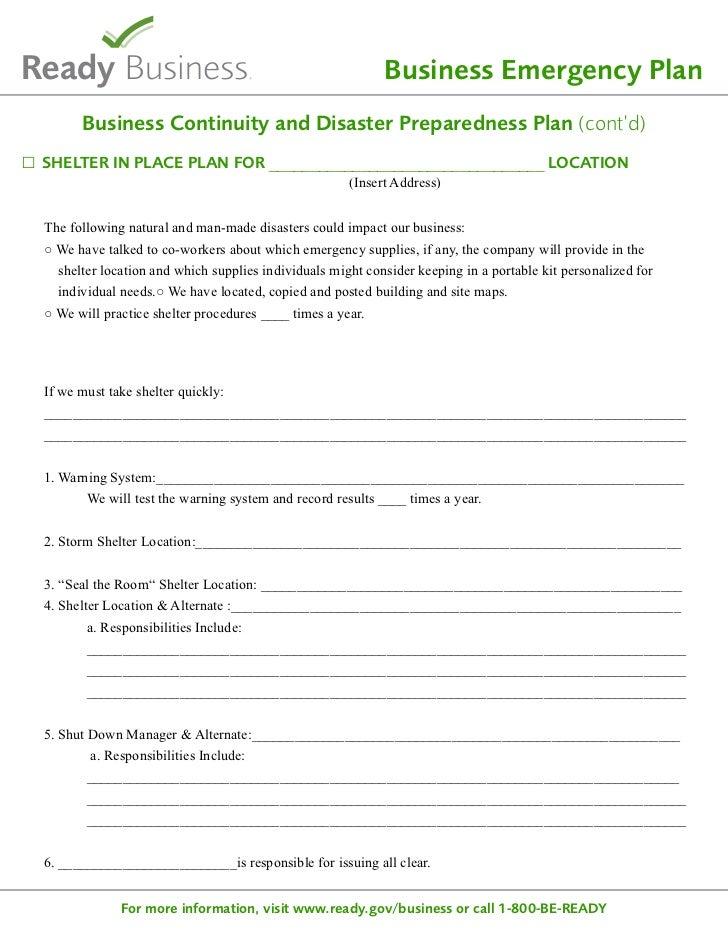 emergency shelter business plan