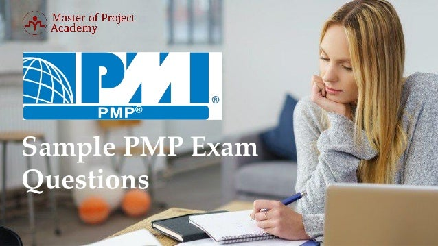 Sample PMP Exam Questions