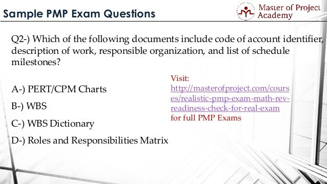 PMP Certification Practice Tests